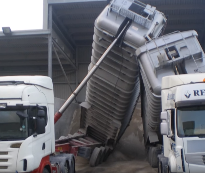 CEMEX UK Tipping Roll Over Safety Film